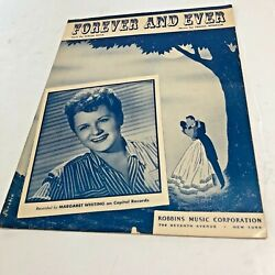 Sheet140 Sheet Music Forever And Ever. Margaret Whiting By Malia Rosa And Franz
