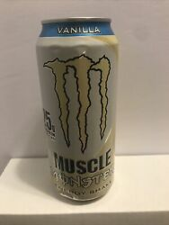 New Full Can Monster Energy Can Muscle Energy Shake Vanilla Discontinued