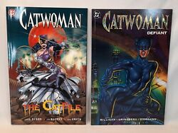 ☆ Lot Of 2 Catwoman Graphic Novels The Catfile And Defiant Dc Comics Free Shipp