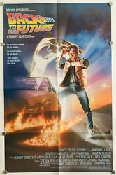 Back To The Future, Us One Sheet, Original Movie Poster
