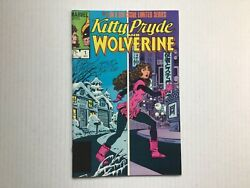 Kitty Pryde And Wolverine 1 Marvel Limited Series1984 Vf/nm