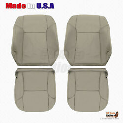 For 2003 - 2009 Toyota 4runner Driver And Passenger Bottoms Tops Vinyl Cover Taupe