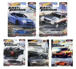 Hot Wheels Fast And Furious 2021 Fast Superstars Set Of 5 Gbw75-956m