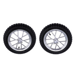 2 Pieces Mini Pit Bike Pocket Bike Wheels And Tyre Tire Rear+front For 49cc