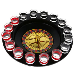 Drinking Roulette Set Wine Game With Casino Shot Glass Bar Party Game