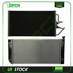Fits Cadillac Escalade Chevrolet Gmc Replacement Radiator And Condenser Assembly