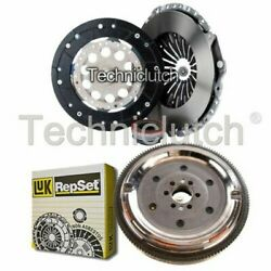 Nationwide 3 Part Clutch Kit And Luk Dmf For Audi Cabriolet Convertible 1.8
