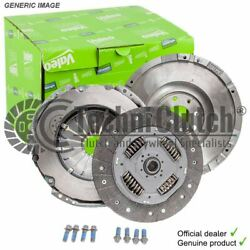Valeo Clutch And Flywheel For Mercedes-benz Vito/mixto Box 2148ccm 95hp 70kw