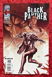 Black Panther #8 Marvel 2009; Maberry; Shuri as BP 1st Aneka Midnight Angel