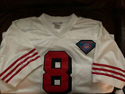 Mitchell And Ness 1994 Nfl San Francisco 49ers Steve Young Jersey Size 52