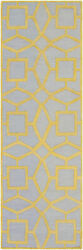 Surya Dst-1173 Dream Transitional Geometric Rectangle Mustard 9and039 X 13and039 Area Rug