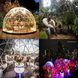 Bubble Tent Transparent 12and039 Walk In Garden Dome Igloo Gazebo Greenhouse Party