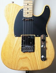 Aircraft Tl Used Before 2005 Ash Body Maple Fingerboard Maple Neck W/hard Case