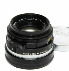 Leica M 2 / 35mm Summicron Clean Glass Early Type