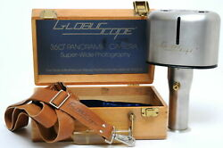 Globuscope 360 ° Panorama Camera Super-wide Photography With Wood Box