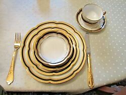 Haviland And Co From Limoges, France Empress China Service For 14 - 105 Pieces