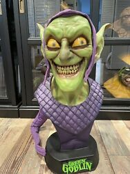 Sideshow Collectibles Green Goblin 11 Life Size Bust Statue Spider-man