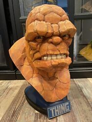 Sideshow Collectibles Thing 11 Life Size Bust Statue Fantastic Four