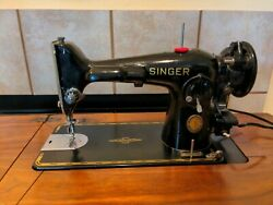 Vintage Singer 201 Centennial Sewing Machine Clean Tested Works Great