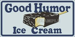 Good Humor Ice Cream Drug General Store Old Sign Remake Aluminum Size Options