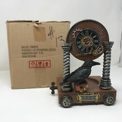 NEW Yankee Candle Halloween 2017 RAVEN STEAMPUNK LOST JAR CANDLE HOLDER