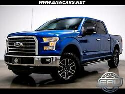 2017 Ford F-150 Xlt 4wd 2017 Ford F-150 Xlt 4wd 37198 Miles Blue Truck Engine 3.5l V6 Ecoboost Automati