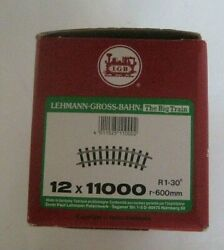 G Scale Lgb 1100 11000 4ft R1 Curve Track Box Of 12 New