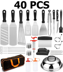 Blackstone Grill Accessories Kit 40 Pcs Griddle Barbecue Tools Set Outdoor Bbq