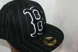Boston Red Sox New Era Mlb Xl Team Logo 59fifty,fitted,hat,cap 7 3/4    New