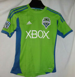 2013 Seattle Sounders Fc Clint Dempsey Adidas Climacool Jersey Kit Sz Youth M