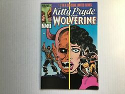 Kitty Pryde And Wolverine 2 Marvel Limited Series1984 White Page Vf/nm