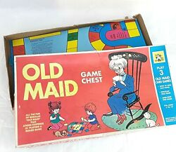 Vintage Old Maid Board Game Whitman Publishing 45 Cards Playing Card