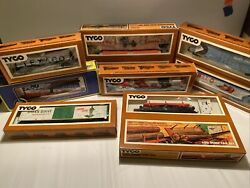 Tyco Electric Model Trains Lot In Boxes🔥🔥