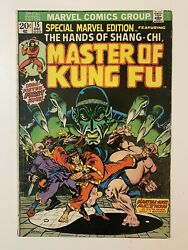 Special Marvel Edition Masters Of Kung Fu 15 1st Shang Chi, Hands Of