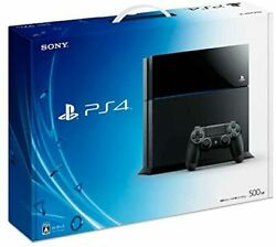 Playstation 4 Jet Black 500gb Cuh-1100ab01 [manufacturer Discontinued]