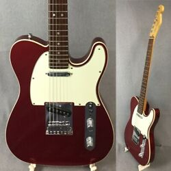Used Fender American Deluxe N3 Car Alder Body 2013 Red Free Shipping