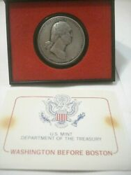 Us Mint Americas First Medals -washington Before Boston- Pewter Collection New