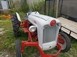 1953 Ford Golden Jubilee Tractor Red White Am1058458