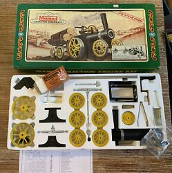 Mamod Traction Engine Kit - Uk Steam Model Train Set Unfired Excellent Condition