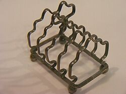 Antique Toast Rack Solid Silver