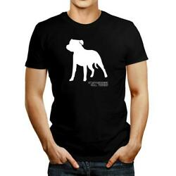 Staffordshire Bull Terrier Shape and Name T shirt