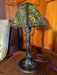 Handel Closed Top Pine Needle 1 Of 2 Available Lampmissionarts And Crafts
