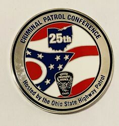 Sought After-unique-2015 Ohio State Highway Patrol -police Challenge Coin