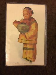Old  Postcard Chinese The Lantern Esther Hunt 1906  Z071