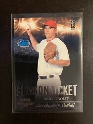 Mike Trout Rookie Cards 2 Card Lot