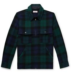 J. Crew Wallace And Barnes Checked Wool-blend Jacket Chore Small S Men