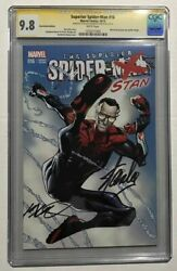 Superior Spider-man 16 Fan Expo Spider-stan Variant Cgc Ss 9.8 Stan Lee Rare