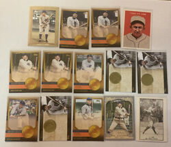 Lot Of 14 Ty Cobb Cards Topps Inserts Resell Invest Tigers