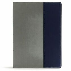 Csb Apologetics Study Bible For Students-gray Leathertouch/navy Cloth