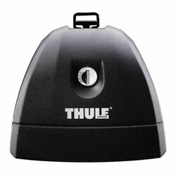 Thule 751 Gutterless Fixpoint Footpack For Car Roof Carrier Bar Black - One Size
